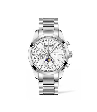 Longines Conquest Classic Chrono with Moon Phase heren horloge L27984726