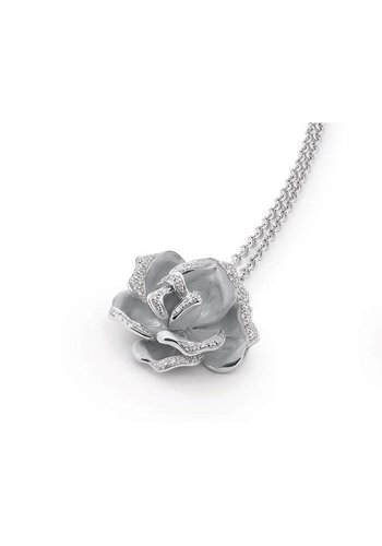 Annamaria Cammilli ketting Flowers Black Rose GPE0398W