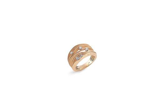 Annamaria Cammilli ring Essential Dune Pink Gold GAN0914K