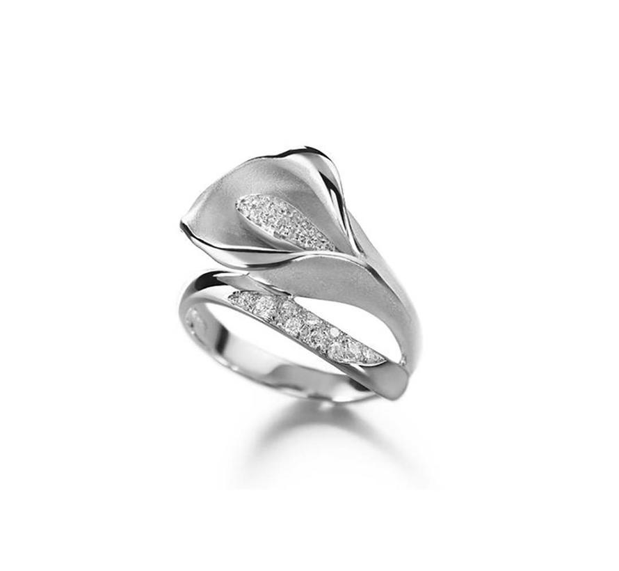 ring Flowers Calla GAN0233W