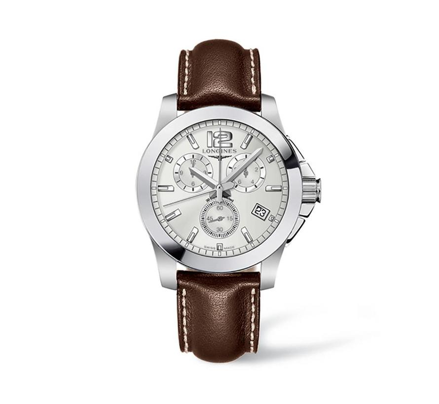 Conquest Chronograph heren horloge L36604765