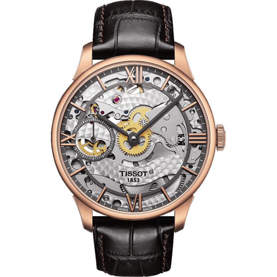 Chemin de Tourelles Skeleton heren horloge T0994053641800