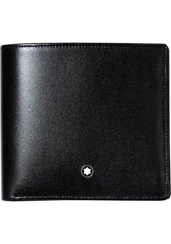 Montblanc Leather Meisterstuck Wallet Large Black 104820