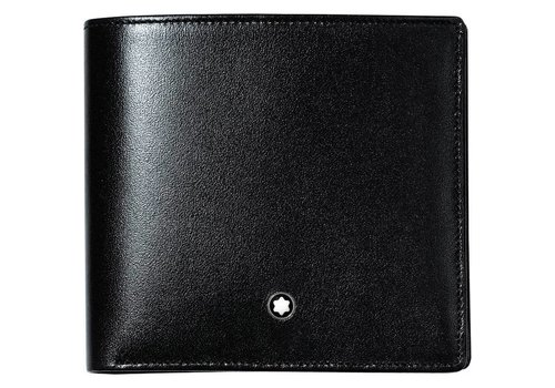 Montblanc Leather Meisterstuck Wallet Large Black 104820