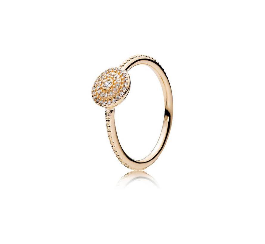 Radiant Elegance 14kt ring 150184CZ