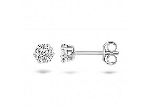 Blush Diamonds oorbellen 14kt Diamonds 7605WDI 0.22ct