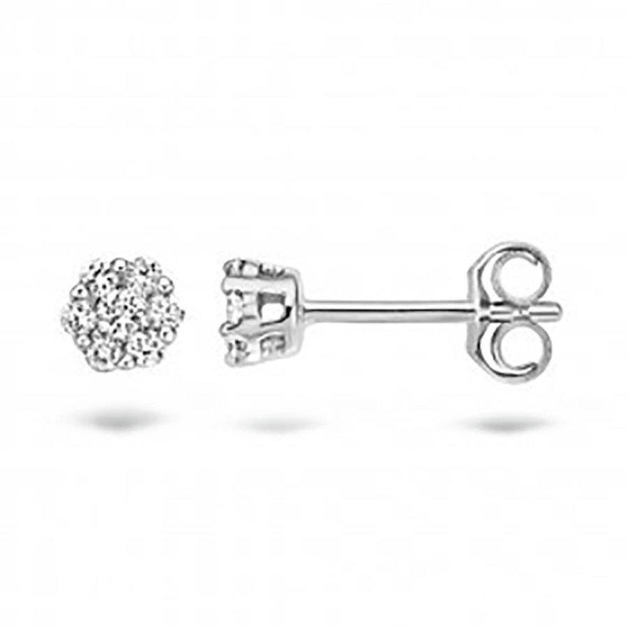 oorbellen 14kt Diamonds 7605WDI 0.22ct