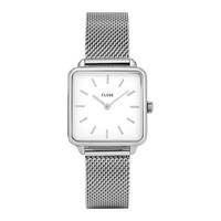 La Garconne Silver/White Mesh CL60001