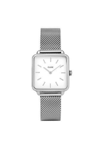 Cluse La Garconne Silver/White Mesh CL60001