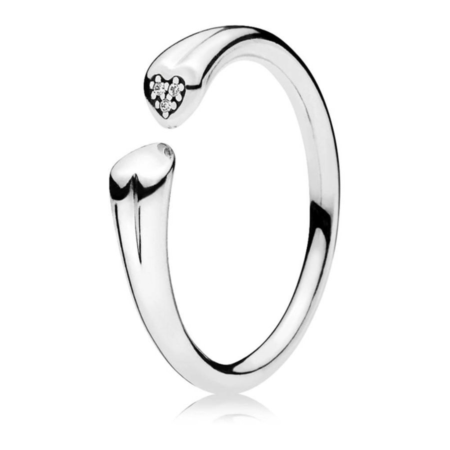 Two Hearts ring 196572CZ