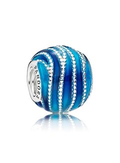 Pandora Blue Swirls 797012ENMX