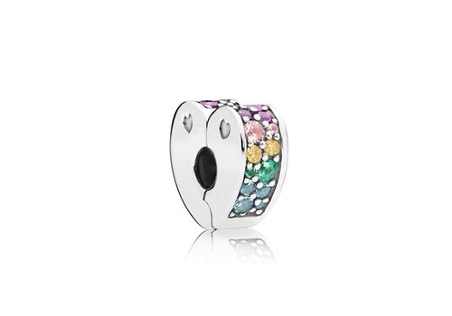 Pandora Multi-Colour Arcs of Love Clip 797020NRPMX