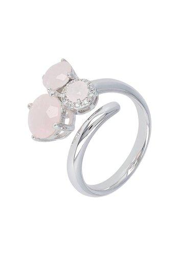Milano 950 Sforzesca Trio Gemstone Wrap ring WSMI00156RQ
