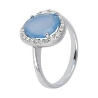 Sforzesca Icon Chalcedony ring WSMI00160BB