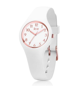 Ice Watch Ice Glam White Rose-Gold Numbers Extra Small 015343