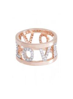 Bronzallure Romanze Love ring WSBZ00528WR