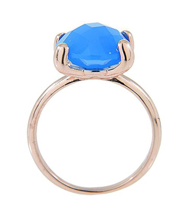 Bronzallure Faceted Stone ring WSBZ00013D