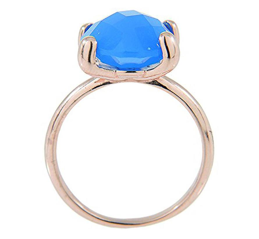 Faceted Stone ring WSBZ00013D