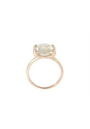 Bronzallure Faceted Stone ring WSBZ00013RT