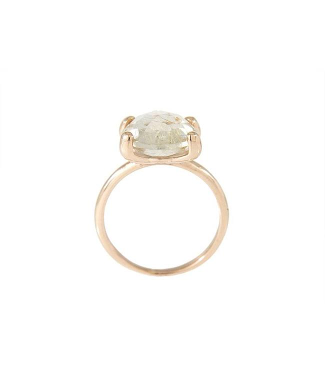 Bronzallure Faceted Stone ring WSBZ00013RT