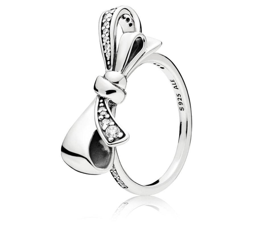 Brilliant Bow ring 197232CZ