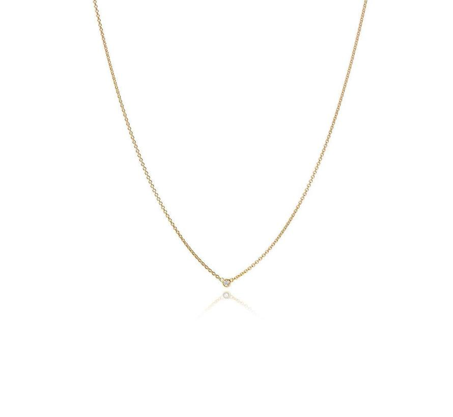 collier The Button MSC024DIGG 0.03ct