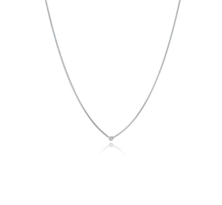 collier The Button MSC024DIWG 0.03ct