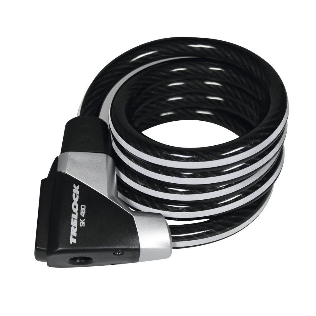 TRELOCK Trelock SK480 Key Cable Lock 200x14mm. High security.