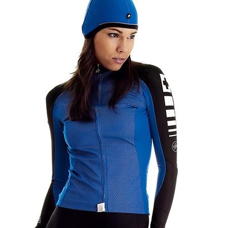 ASSOS Assos Intermediate Evo Jersey Lady, Blue, Large