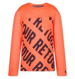 Max neon orange longsleeve Retour