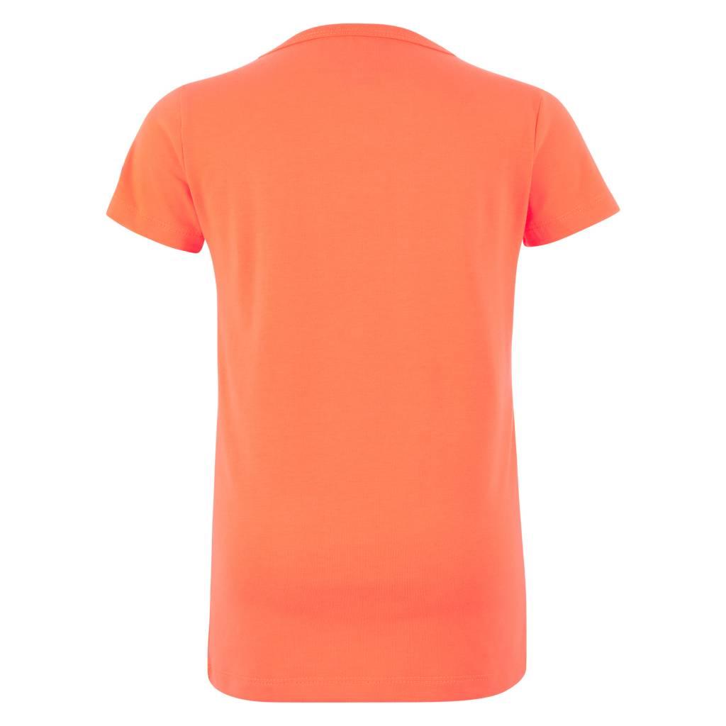 Retour Sean shirt neon orange