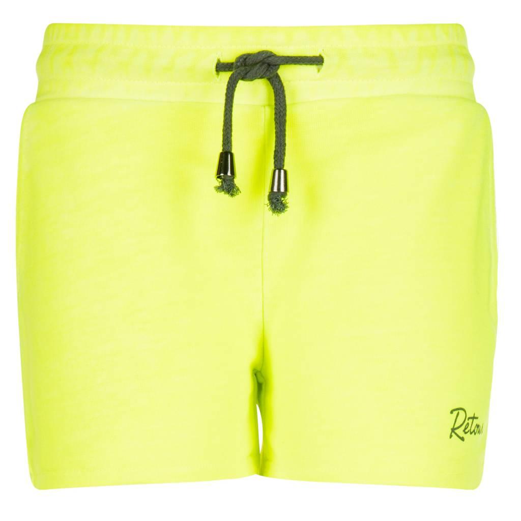 Retour Irma short neon yellow Retour