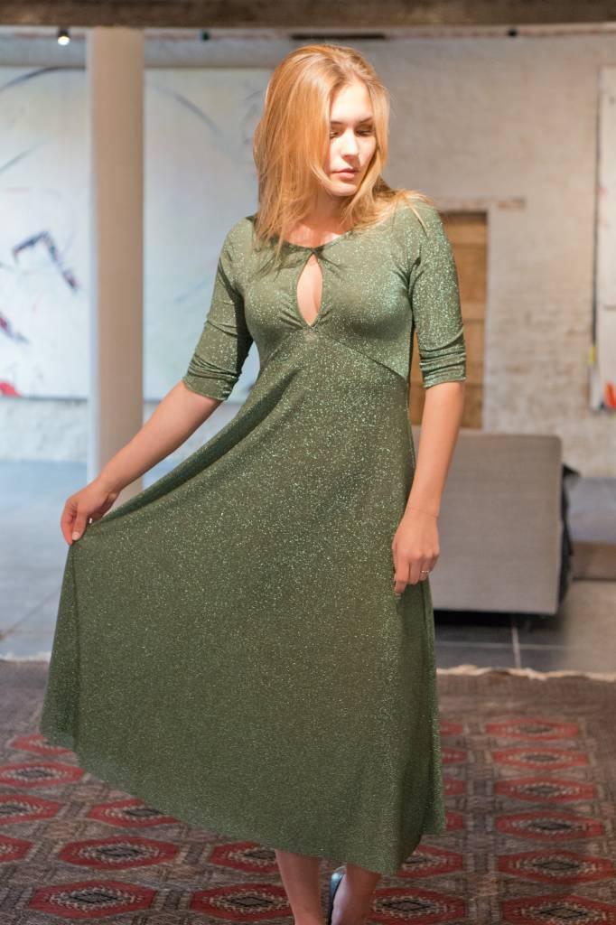 mintgroen kleedje
