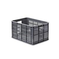 Crate S - Fahrradkiste - Grau