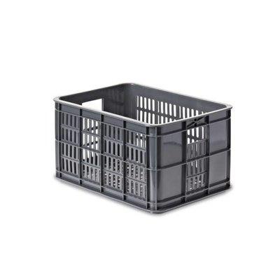 Basil Crate S - fietskrat - 25L - grijs