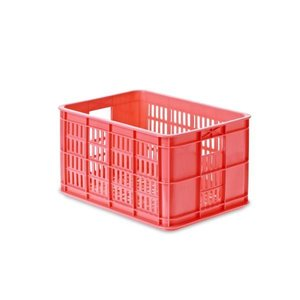 Crate S - Fahrradkiste - Rosa