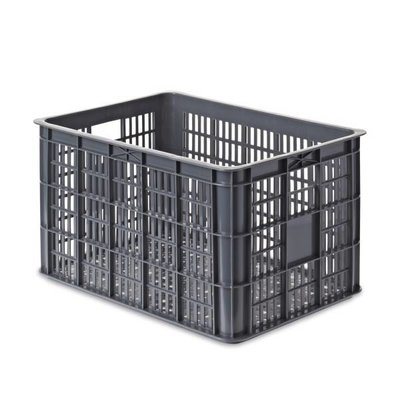 Basil Basil Crate L - fahrradkiste - 50l - Grau