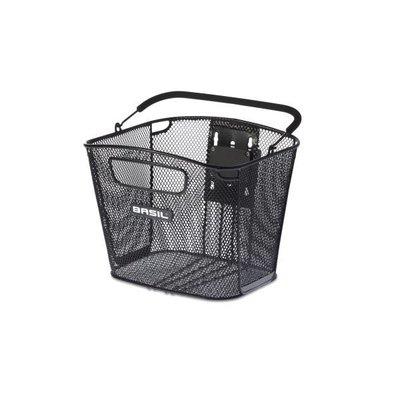 Basil Basil Bold Front Removable - fahrradkorb - 16L - vorderradgepäckträger - schwarz