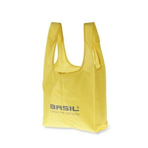 Basil Keep Shopper - folding shopper - neon yellow