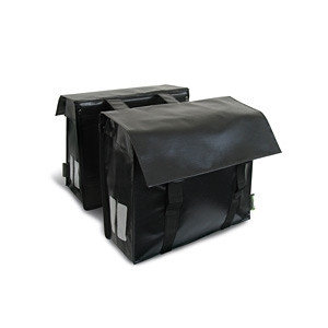 Basil Basonyl - doppelte fahrradtasche - 40L - schwarz