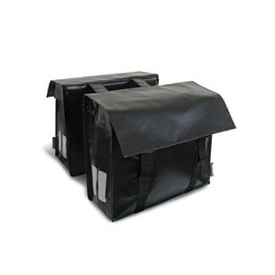 Basil Basonyl - double cycle bag - 40L - black