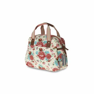 Basil Bloom Kids Carry All - bicycle bag - 11L - white with flowers