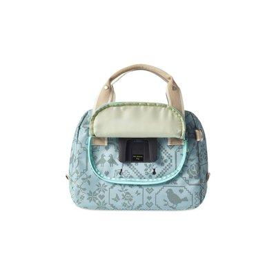 Basil Basil Boheme City Bag- handlebar bag- bicycle shoulder bag- bicycle handbag- 8L- green