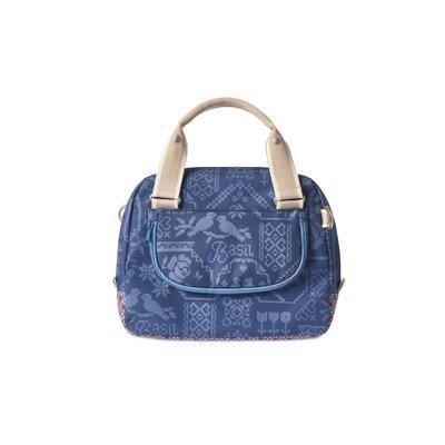 Basil Boheme City Bag - stuurtas - fietsschoudertas - fietshandtas - 7L - blauw