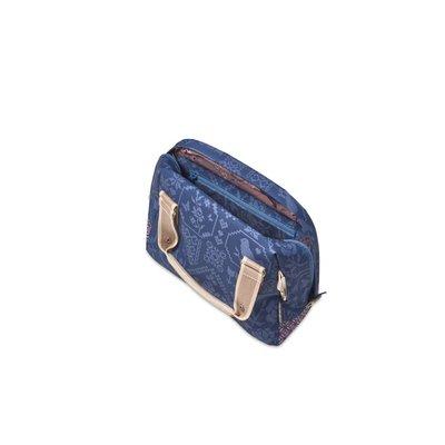 Basil Basil Boheme City Bag- handlebar bag- bicycle shoulder bag- bicycle handbag- 8L- blue
