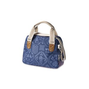 Basil Boheme City Bag - handlebar bag - bicycle shoulder bag - 7L- blue