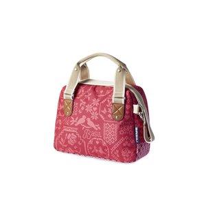 Basil Boheme City Bag- handlebar bag- bicycle shoulder bag- bicycle handbag- 7L- red