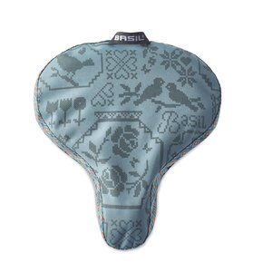 Basil Boheme Saddle Cover - zadelhoes - groen