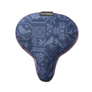 Basil Boheme Saddle Cover - blue