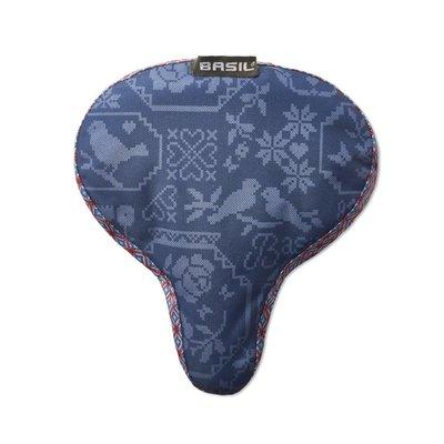 Basil Basil Boheme Saddle Cover - sattelbezug - blau